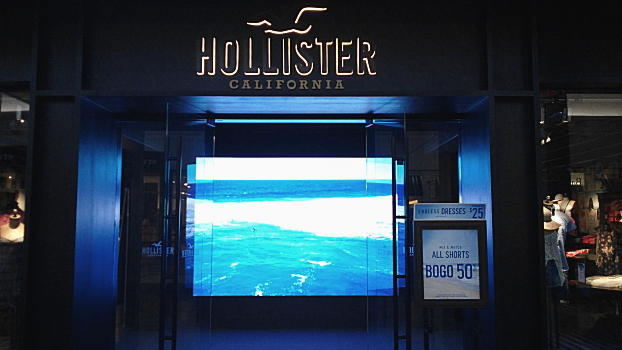 HOLLISTER CALIFORNIA scene